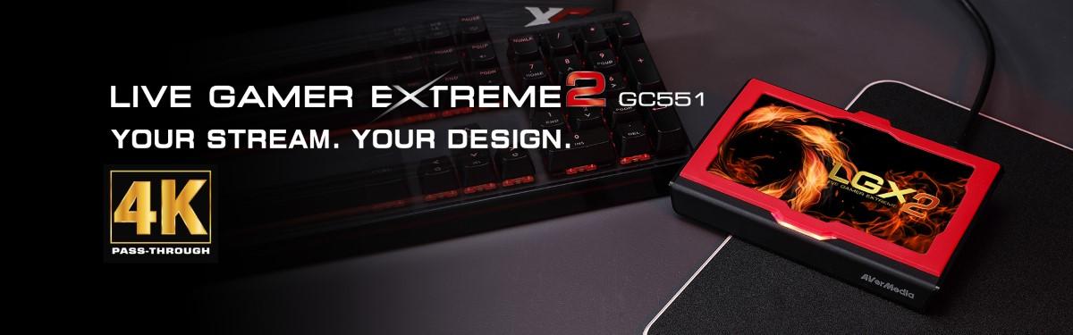Thiết bị thu hình AverMedia Live Gamer EXTREME 2 - GC551