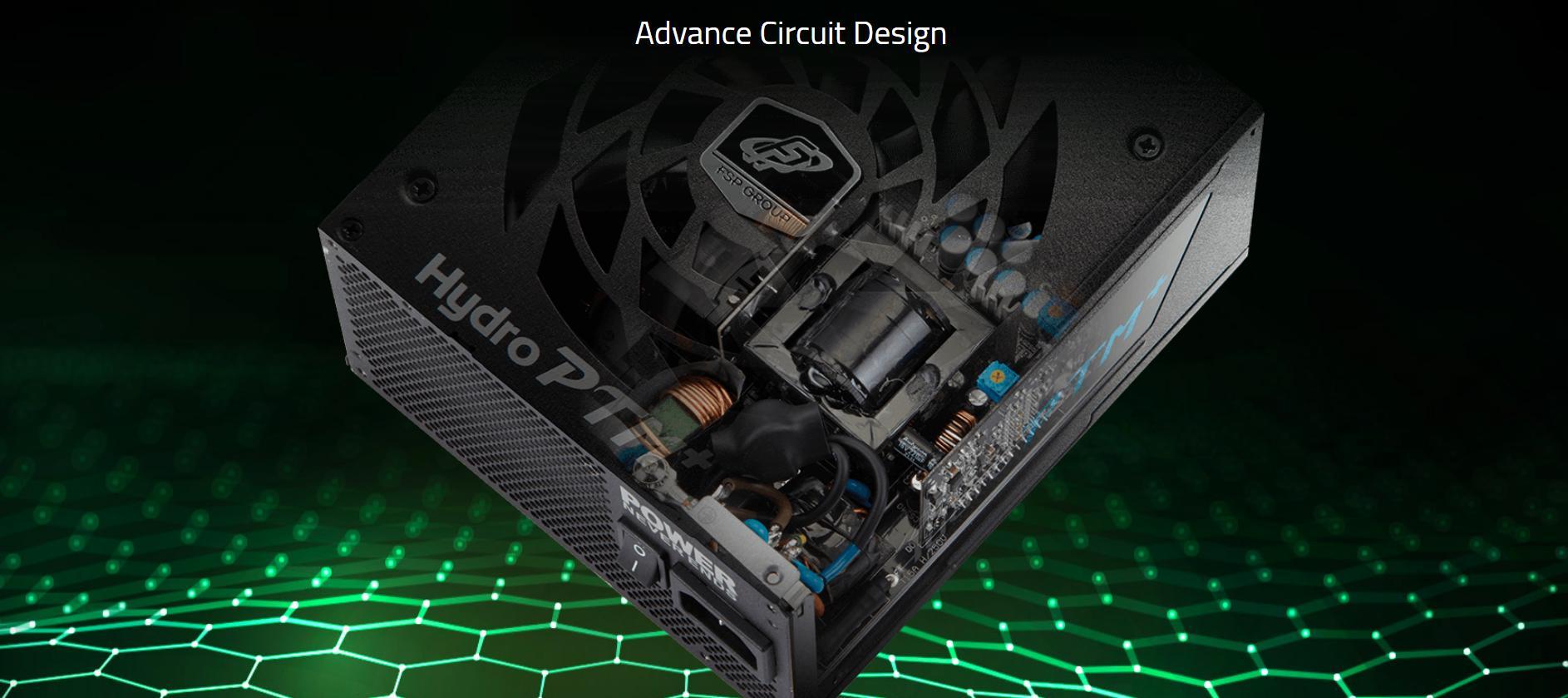Nguồn FSP HYDRO PTM+ Series 850W - Active PFC - 80 Plus Platinum - Full Modular giới thiệu 5