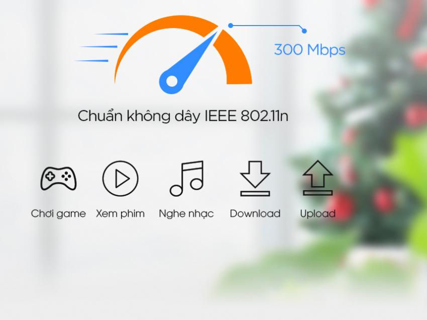 Bộ phát wifi Totolink N350RT chuẩn N300Mbps
