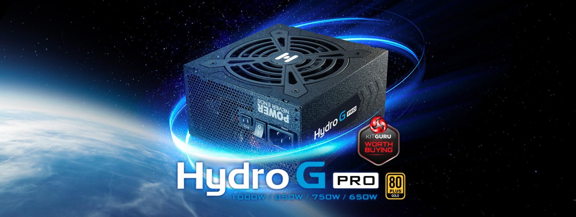 FSP Power Supply HYDRO G PRO Series Model HG2-1000 - Active PFC - 80 Plus Gold - Full Modular giới thiệu