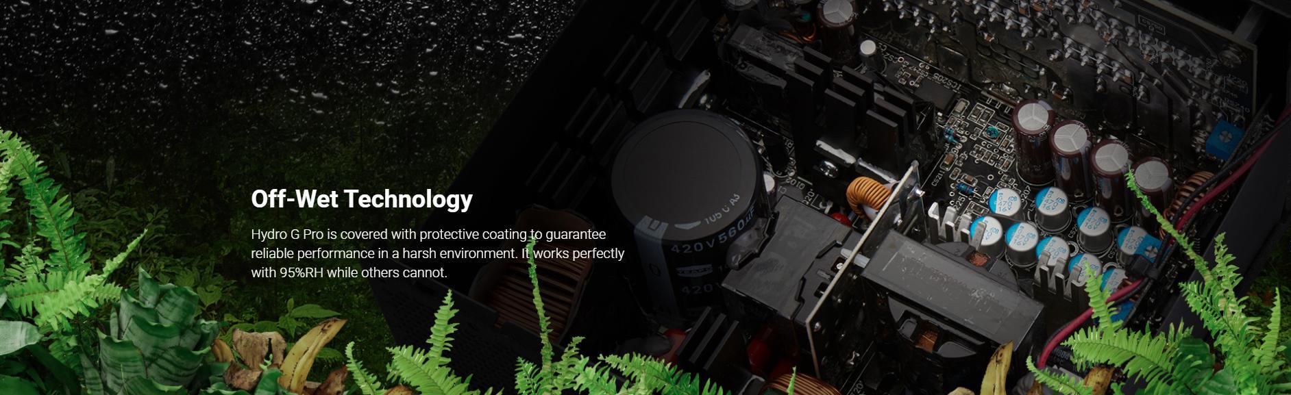 FSP Power Supply HYDRO G PRO Series Model HG2-850 - Active PFC - 80 Plus Gold - Full Modular giới thiệu 9