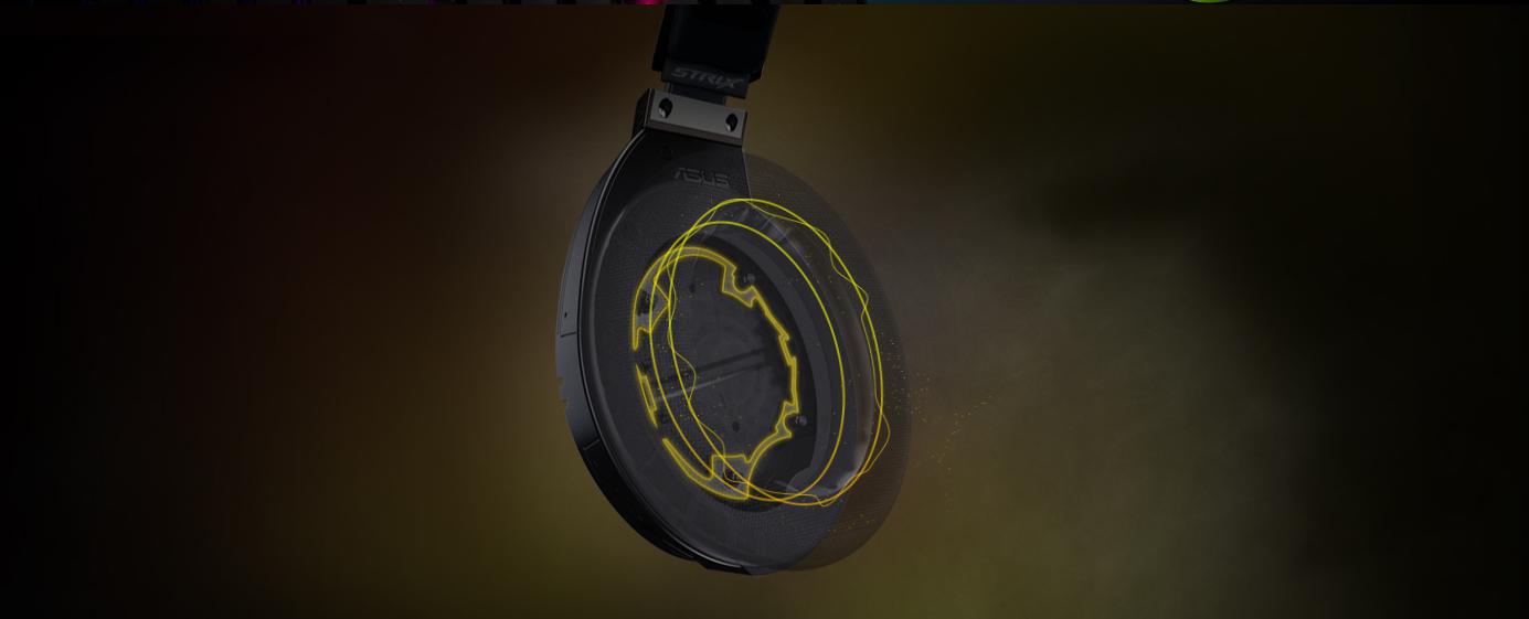 Tai nghe Bluetooth Asus ROG Strix Fusion 700 Gaming có thiết kế buồng âm độc quyền