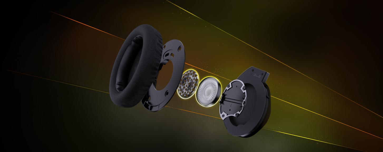 Tai nghe Bluetooth Asus ROG Strix Fusion 700 Gaming cho dải âm bass ấn tượng