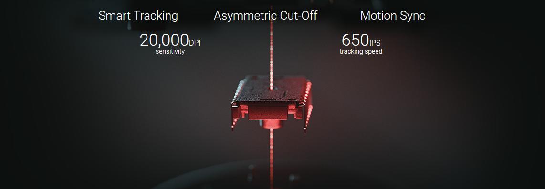 Chuột Razer DeathAdder V2 RGB Gaming trang bị mắt cảm biến Razer Focus+ cho độ chính xác cực cao