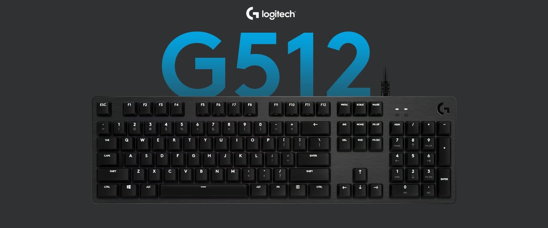 Bàn phím cơ Logitech G512 Lightsync RGB GX Blue Clicky switch