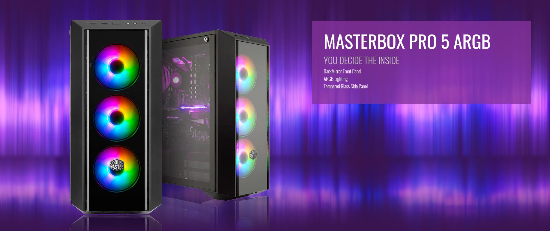 Case Cooler Master MasterBox Pro 5 ARGB giới thiệu