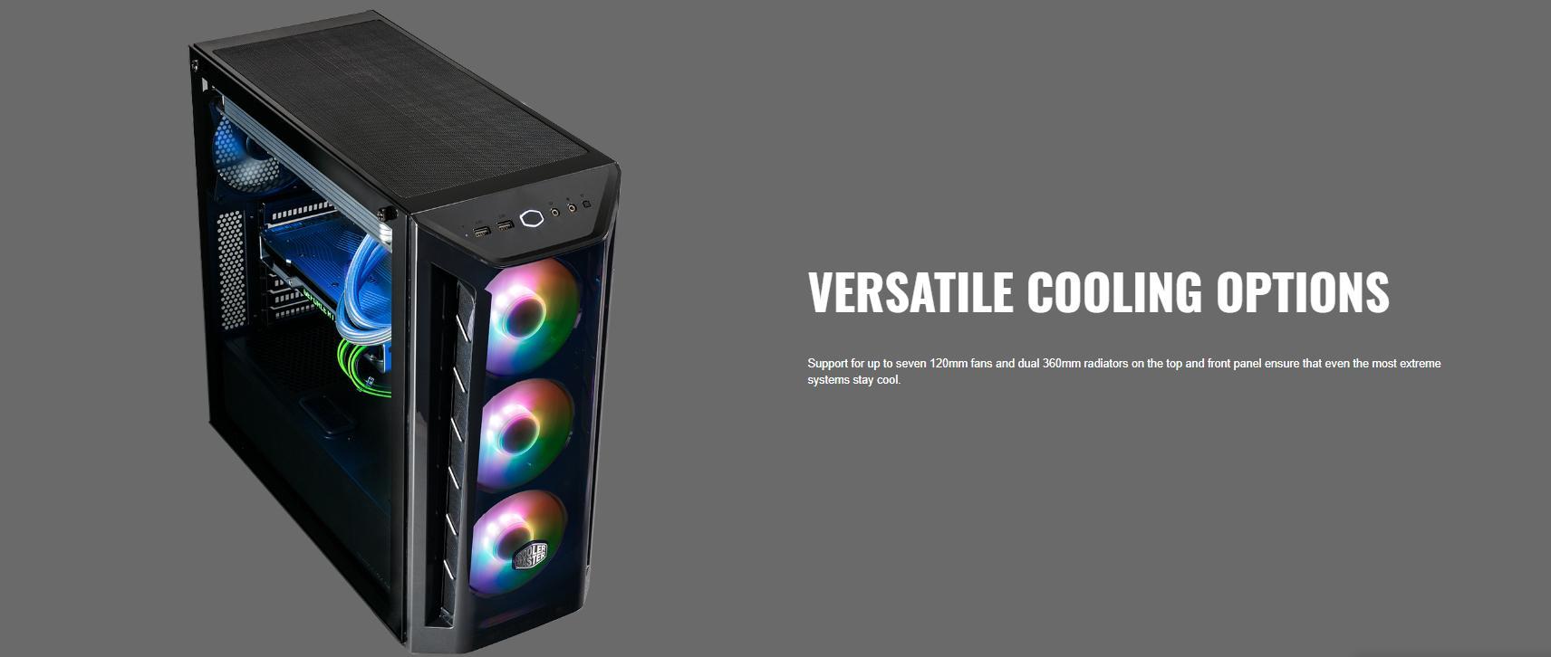 Cooler Master MasterBox MB520 ARGB giới thiệu 6
