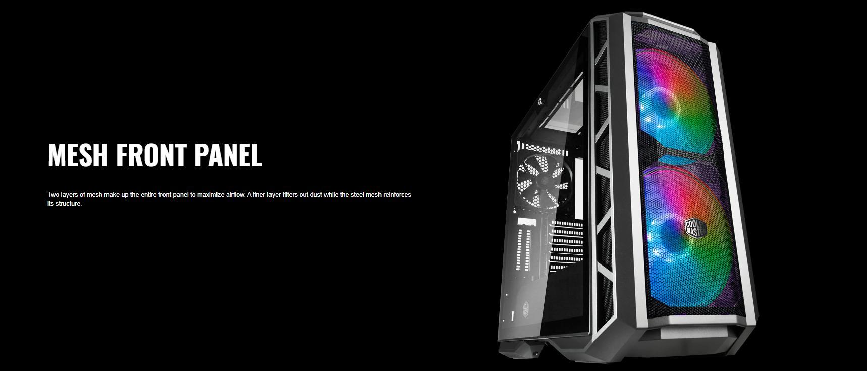 Cooler Master MasterCase H500P TG Mesh ARGB giới thiệu 5