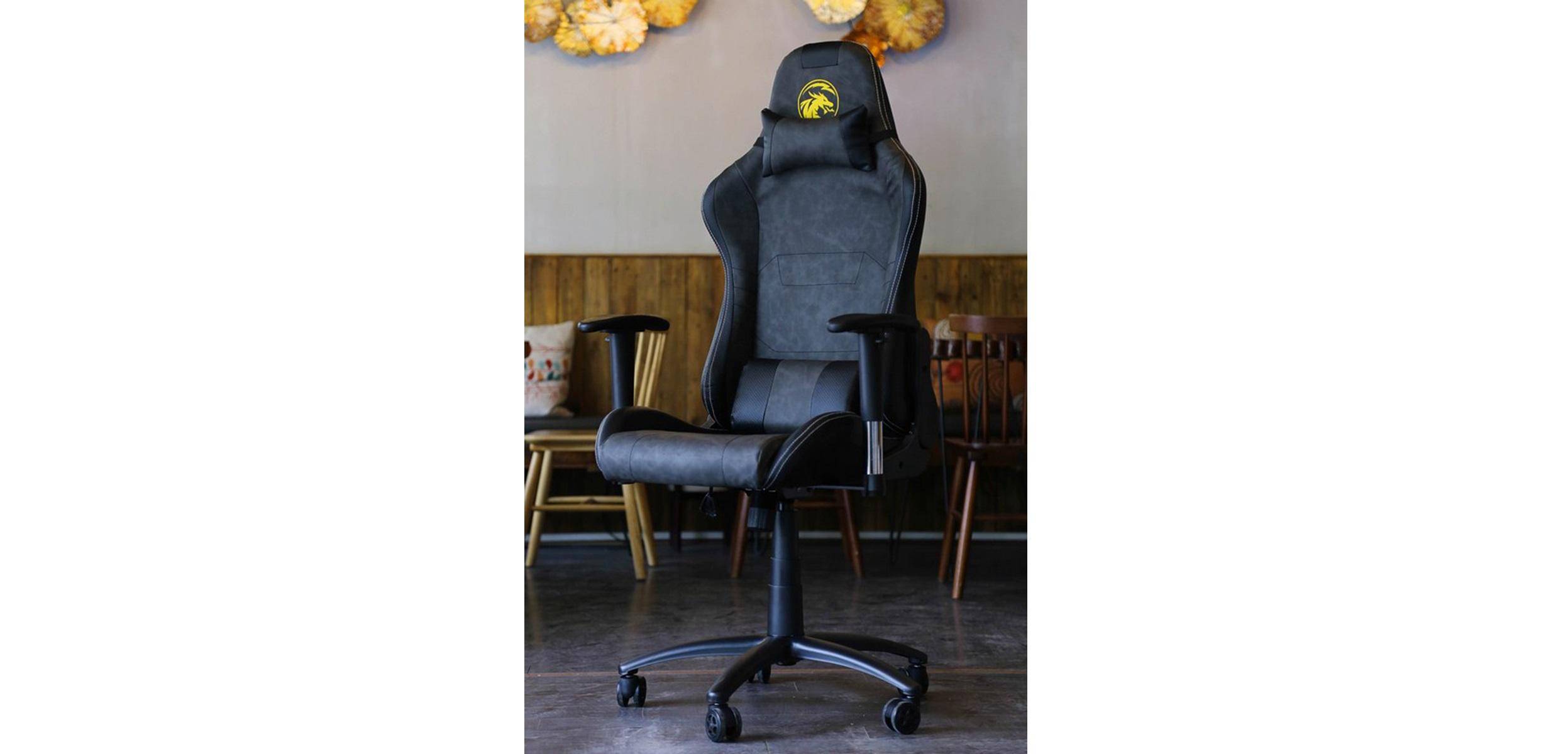 Ghế Gamer E-Dra Midtnight Gaming Chair Black/Gray (EGB025) trang bị trụ thuỷ lực class 4 với tải trọng cao