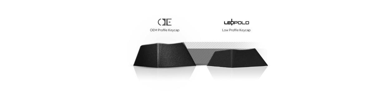 Bàn phím cơ Leopold FC660M White Pink OE Cherry Brown Switch trang bị keycap profile OEM dễ làm quen hơn