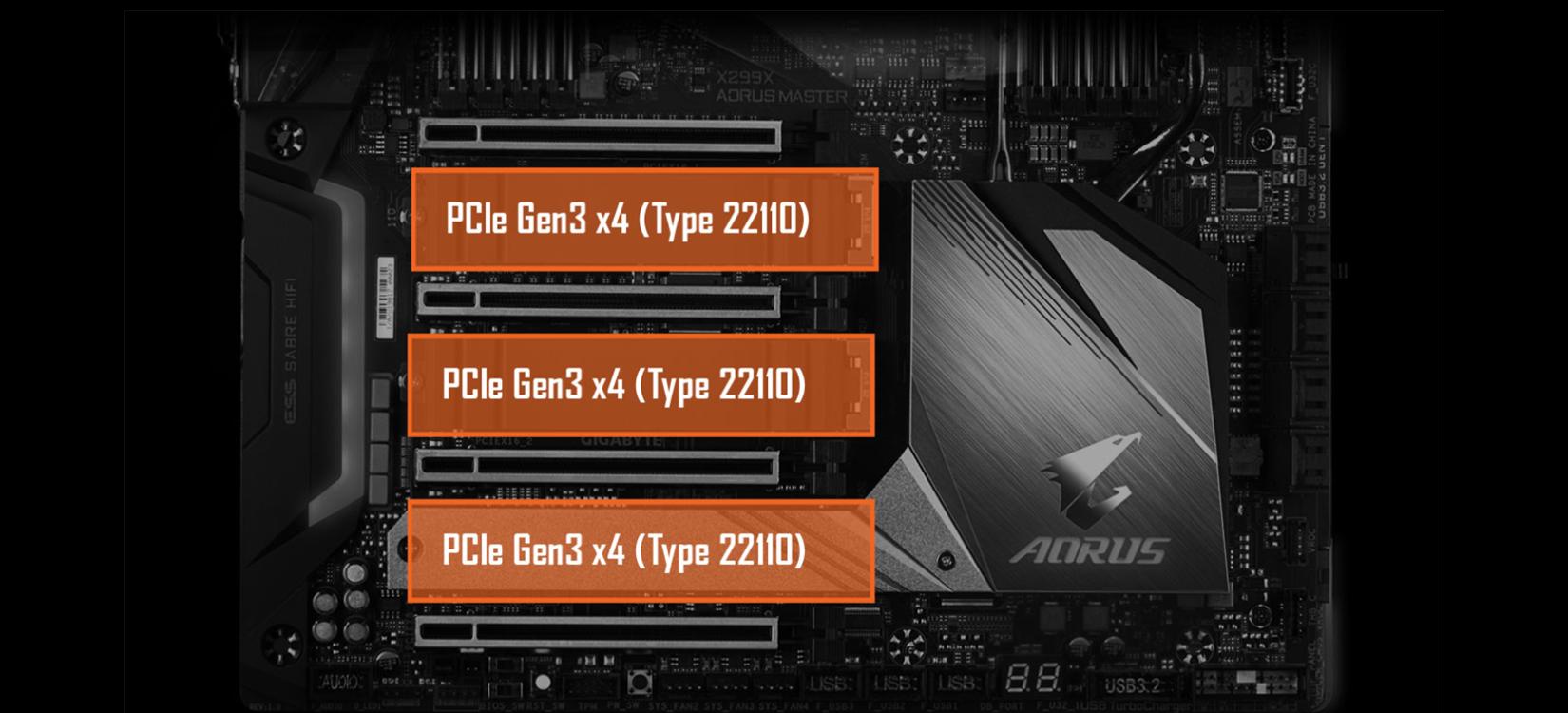 Hieu Nang Mainboard Gigabyte X299X AORUS MASTER