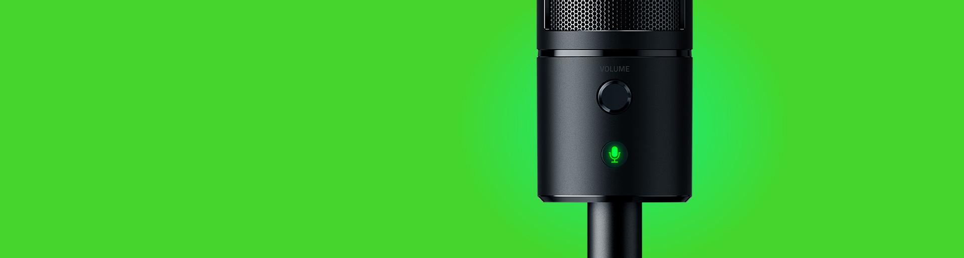 Công nghệ Micro tiên tiến thu âm chất lượng cao của Microphone Razer Seiren Emote with Emotiocons (RZ19-03060100-R3M1)