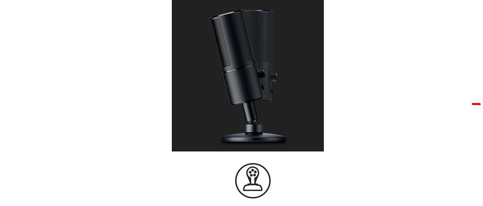 Tính năng chống sốc của Microphone Razer Seiren Emote with Emotiocons (RZ19-03060100-R3M1)