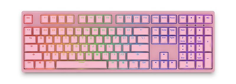 Bàn phím cơ AKKO 3108S RGB PRO Pink Cherry MX Red Switch sử dụng switch Cherry MX từ Đức
