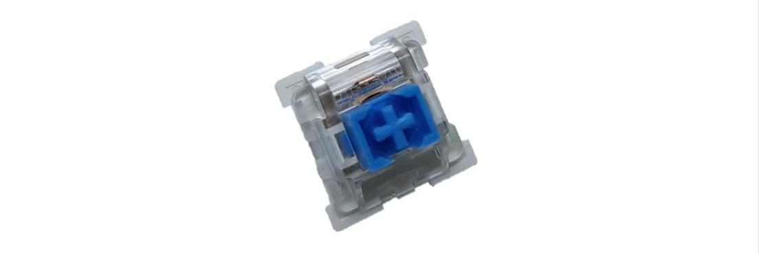 Bàn phím cơ E-Dra EK311 Outemu Blue Switch Led Rainbow sử dụng switch outemu có chất lượng tốt