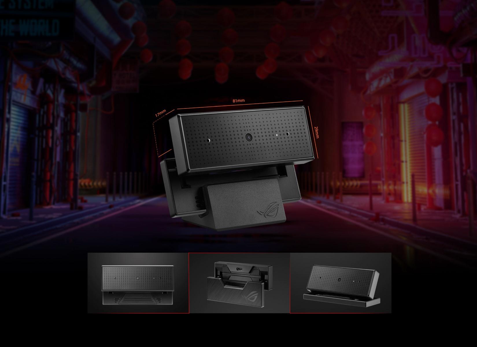 Webcam Asus ROG Eye có thiết kế kích thước vô cùng nhỏ