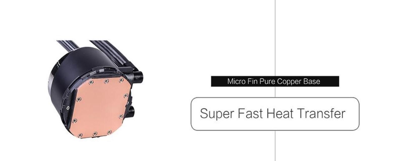 Tản Nhiệt Nước ID-COOLING ZOOMFLOW 360X ARGB có khả năng giải nhiệt siêu nhanh