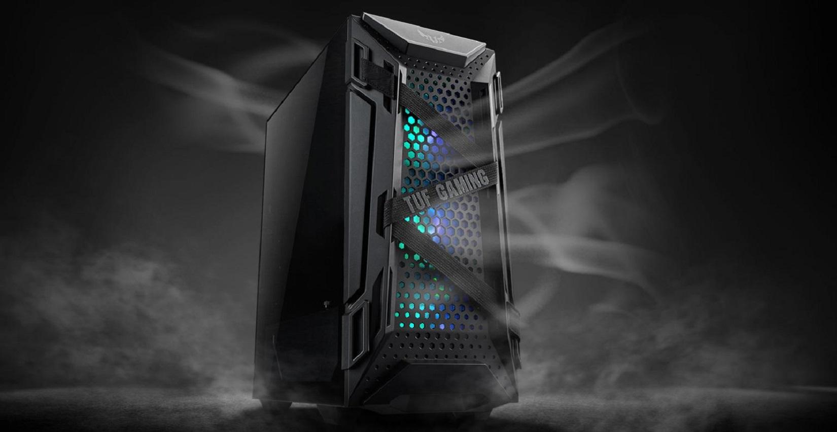 Case Asus TUF Gaming GT301 (Mid Tower/ Màu Đen/ Led ARGB) giới thiệu 2