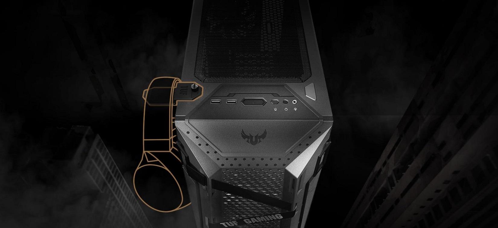 Case Asus TUF Gaming GT301 (Mid Tower/ Màu Đen/ Led ARGB) giới thiệu 4