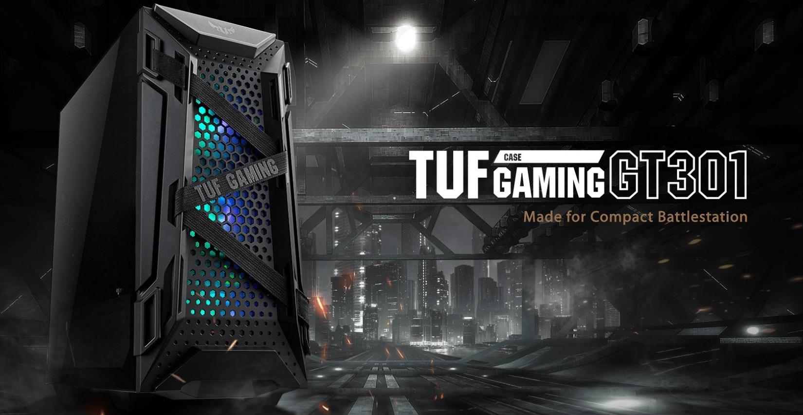 Case Asus TUF Gaming GT301 (Mid Tower/ Màu Đen/ Led ARGB) giới thiệu