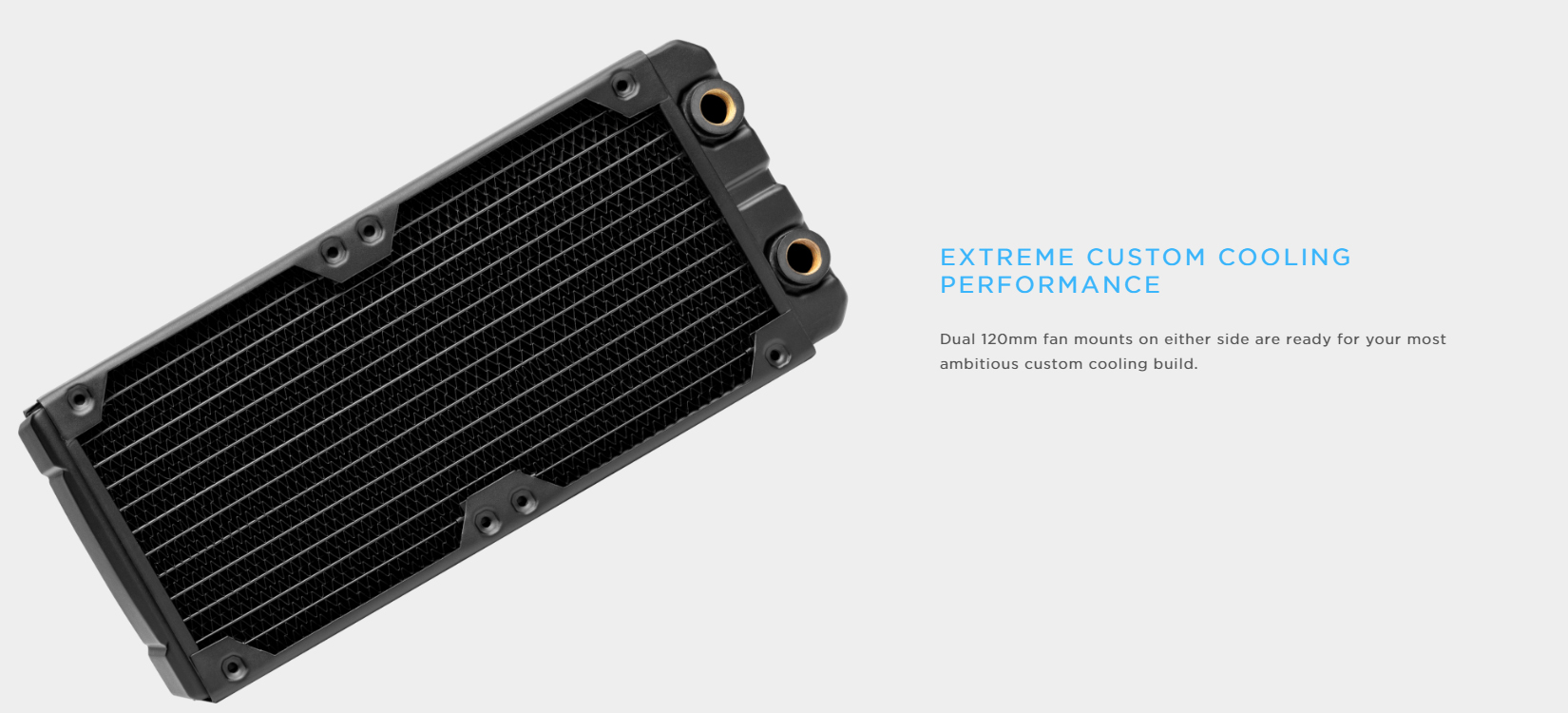 Corsair Hydro X Series XR5 240 (2x120mm radiator; 33mm thick) (CX-9030002-WW )
