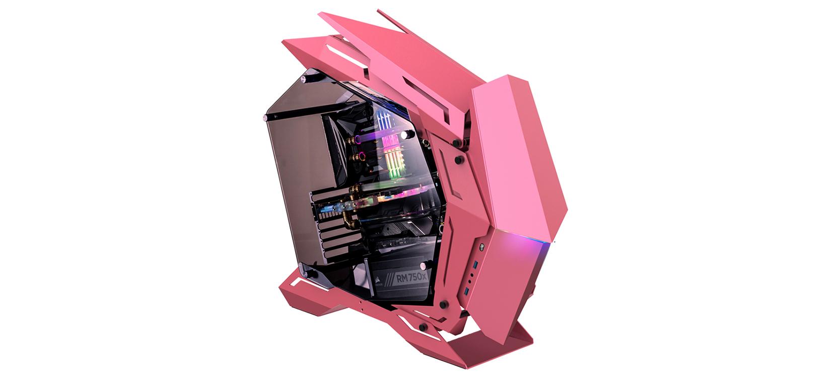 Case Jonsbo MOD3 Pink (Mid Tower/Màu Hồng) giới thiệu 3