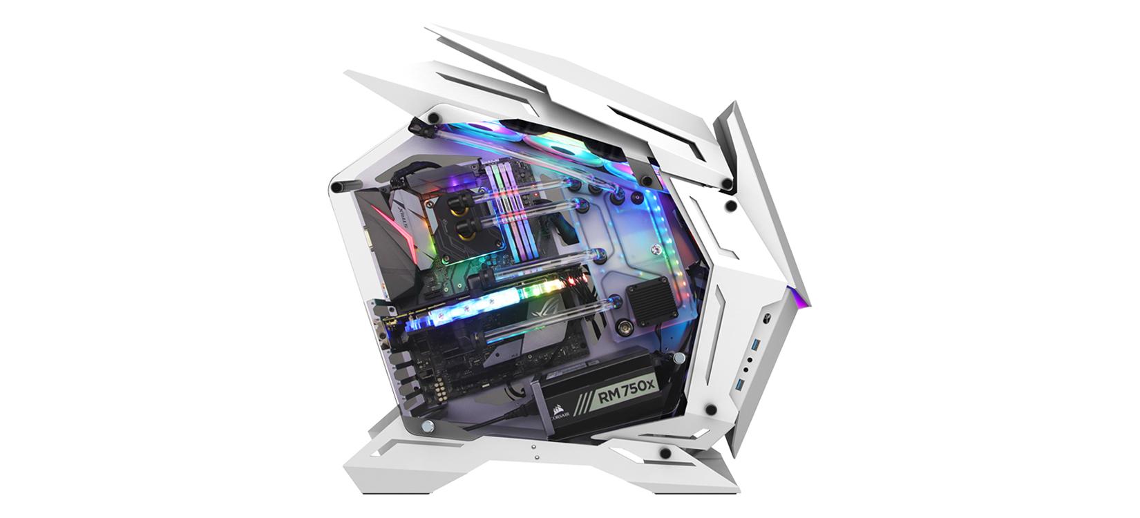 Case Jonsbo MOD3 White (Mid Tower/Màu Trắng) giới thiệu 4