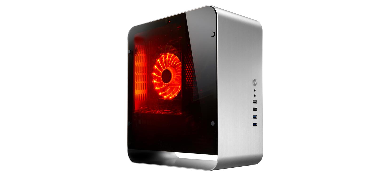 Jonsbo UMX1-PLUS Tempered Glass (Mini Tower/Màu Bạc) giới thiệu
