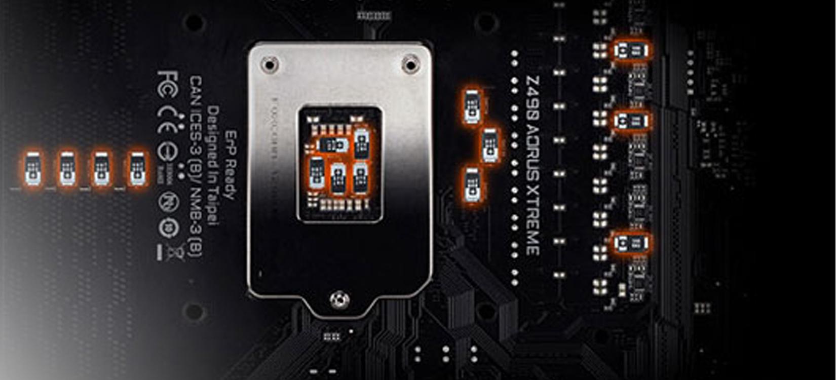 Mainboard GIGABYTE Z490 AORUS XTREME (Intel Z490, Socket 1200, ATX, 4 khe RAM DDR4)