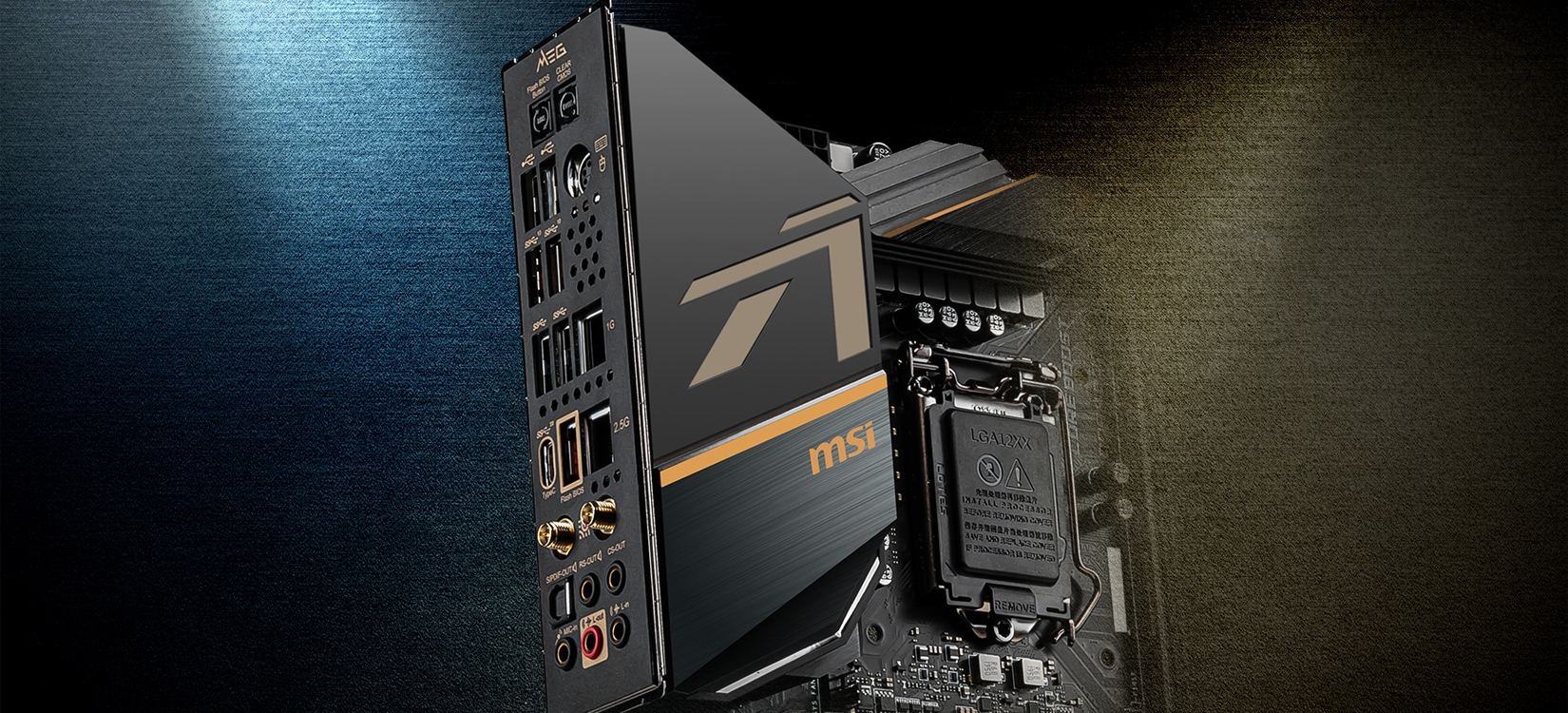 Mainboard MSI MEG Z490 ACE (Intel Z490, Socket 1200, ATX, 4 khe RAM DDR4)