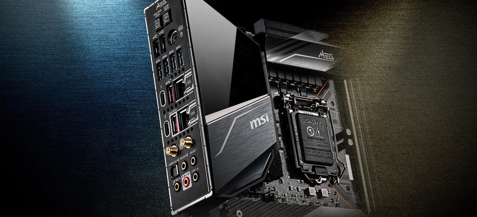 Mainboard MSI MEG Z490 GODLIKE (Intel Z490, Socket 1200, E-ATX, 4 khe RAM DDR4)