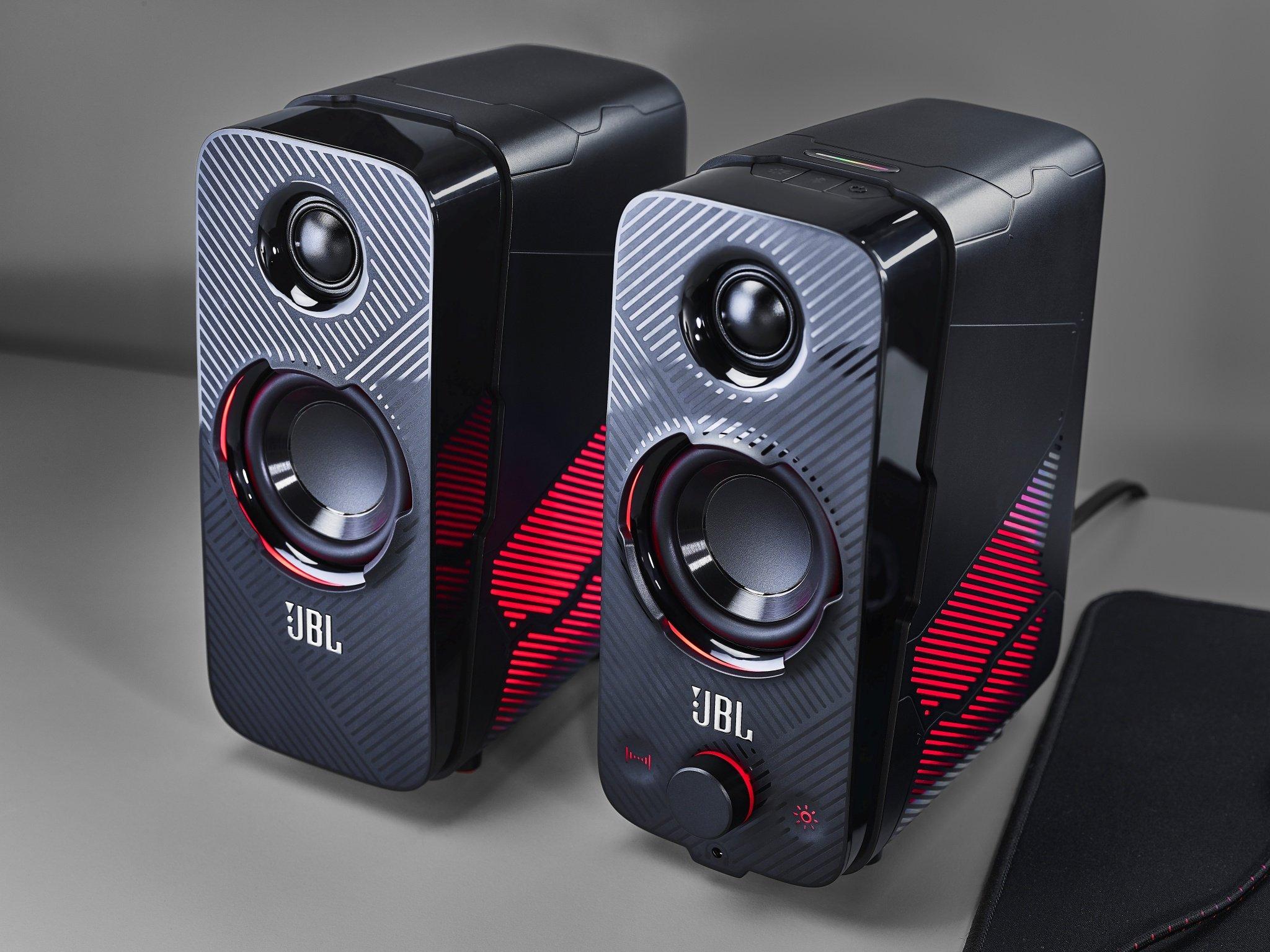 Loa JBL Quantum Duo 2.0 LED RGB cho bạn thưởng thức âm thanh tuyệt vời