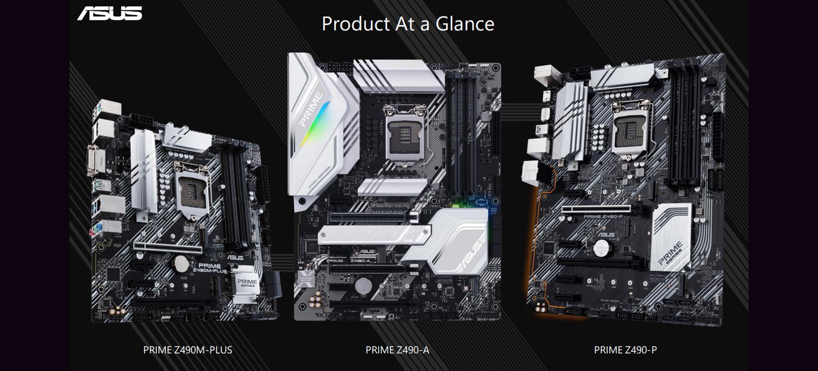 Mainboard ASUS PRIME Z490-A (Intel Z490, Socket 1200, ATX, 4 khe RAM DDR4)