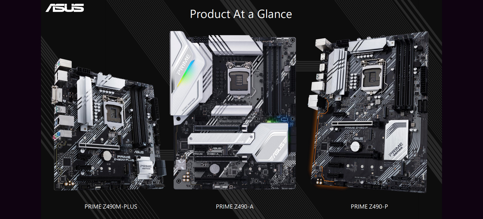 Mainboard ASUS PRIME Z490M-PLUS (Intel Z490, Socket 1200, m-ATX, 4 khe RAM DDR4)