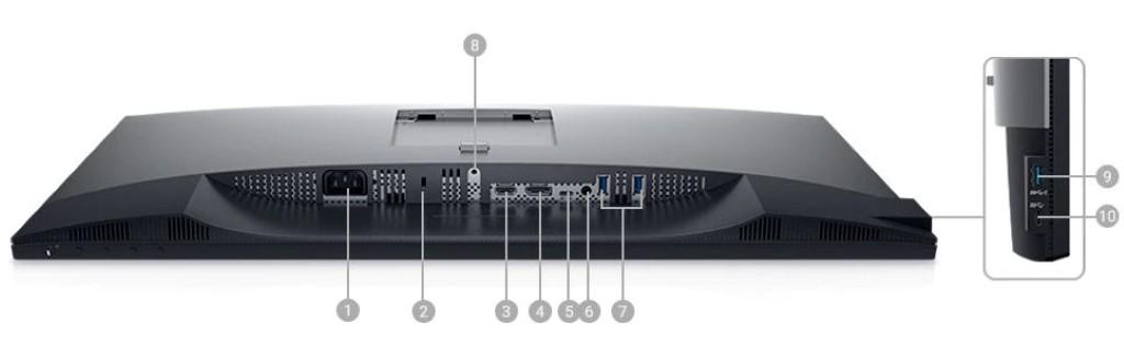 Màn Hình Dell U2720Q đa dạng kết nối