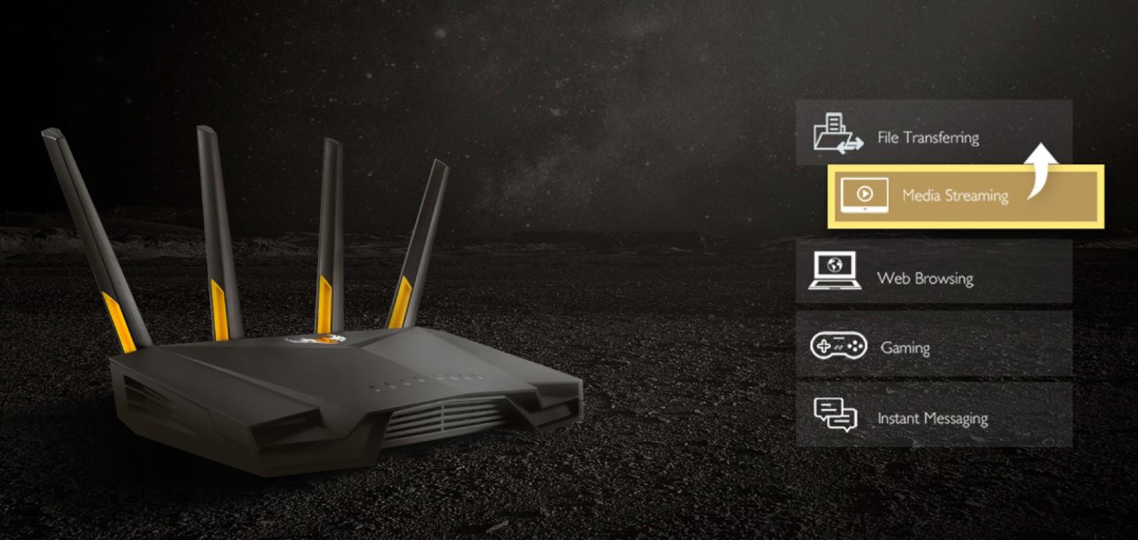 Bộ phát wifi ASUS TUF GAMING AX3000 5