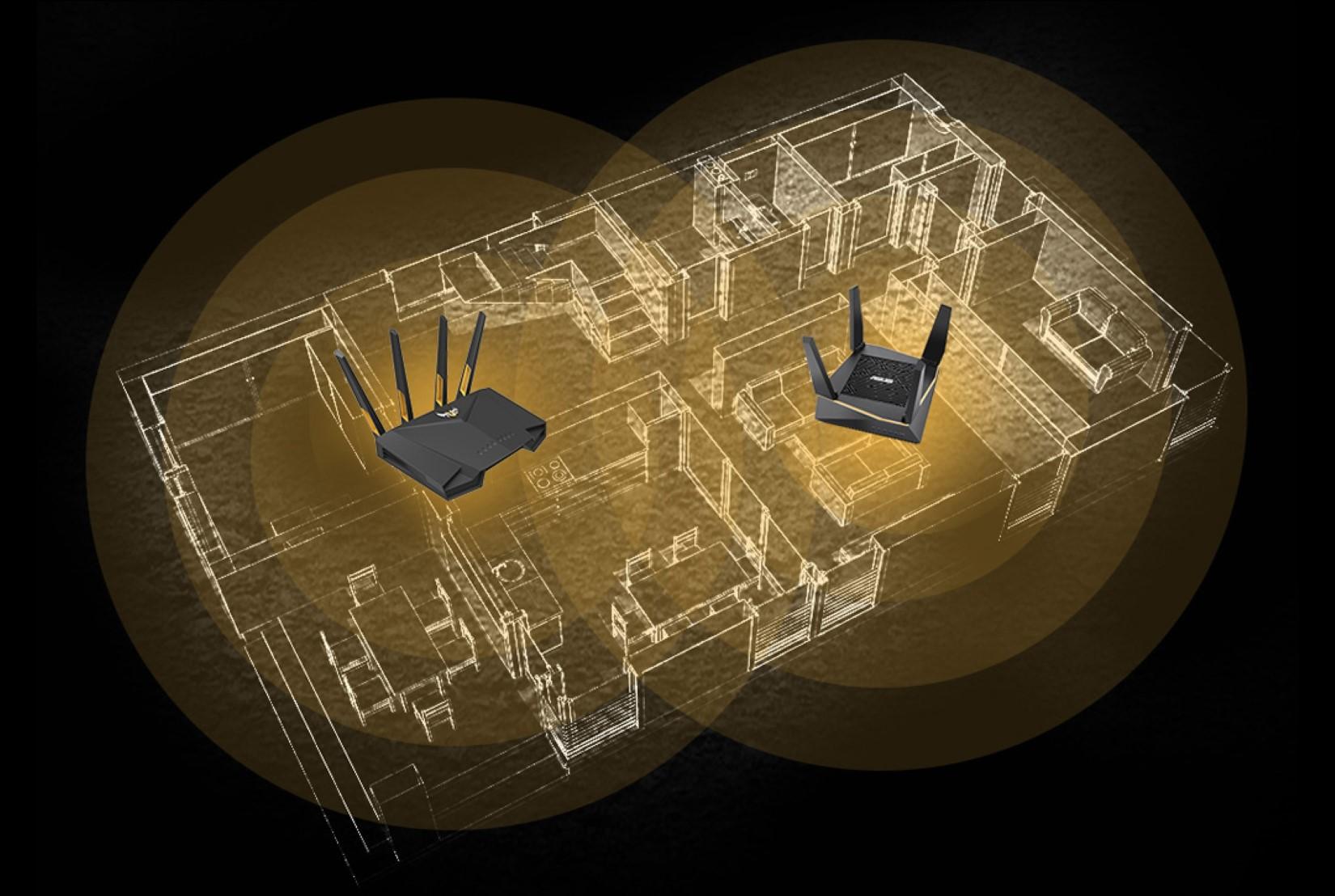 Bộ phát wifi ASUS TUF GAMING AX3000 6