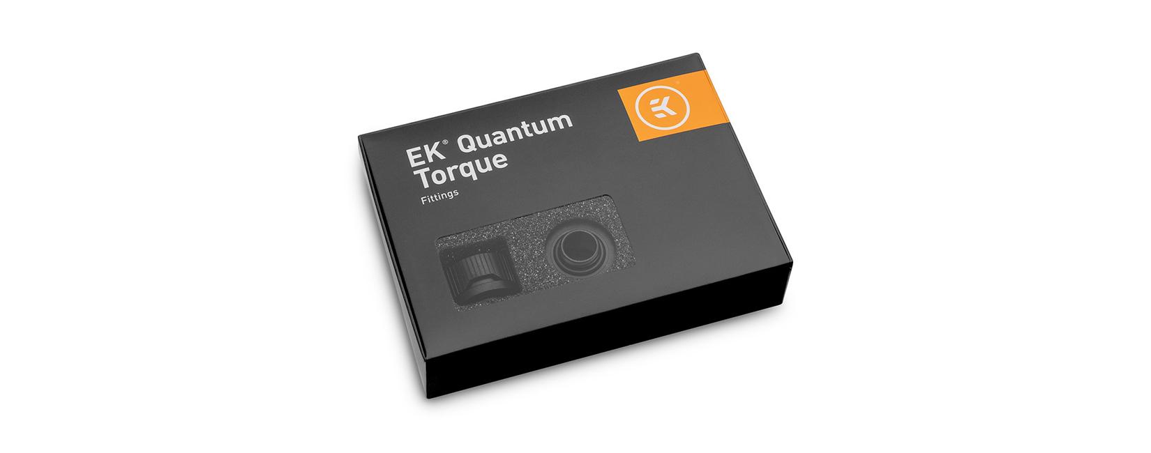 EK-Quantum Torque 6-Pack HTC 16 - Black