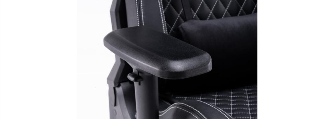 Ghế Chơi Game Ultimate EGC2020 Lux màu đen - E-Dra trang bị tay ghế 4D có thể chỉnh hướng dễ dàng