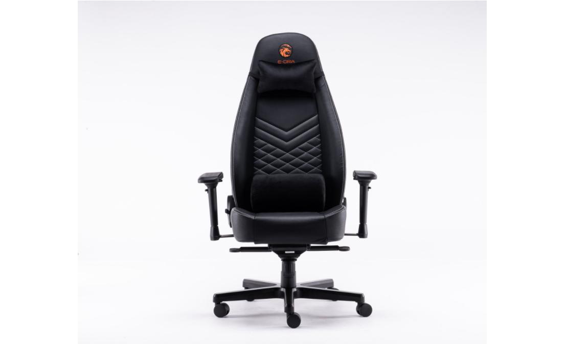 Ghế gaming Bigboss EGC2021 Lux màu đen - E-Dra sử dụng da bò thật
