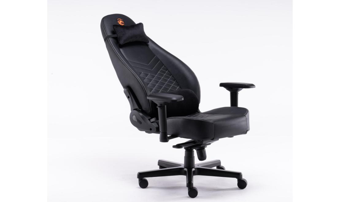 Ghế gaming Bigboss EGC2021 Lux màu đen - E-Dra có thiết kế khung kim loại chắc chắn