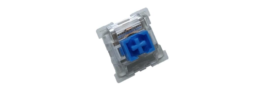 Bàn phím cơ E-Dra EK387 Pro PBT Cherry Blue switch Đen Xám sử dụng switch outemu bền bỉ