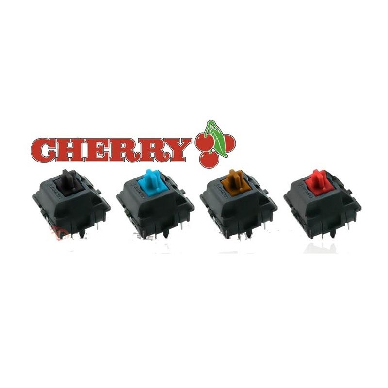 Bàn phím cơ Akko 3108 Dragon Ball Z Goku Cherry Red switch sử dụng switch Cherry cao cấp