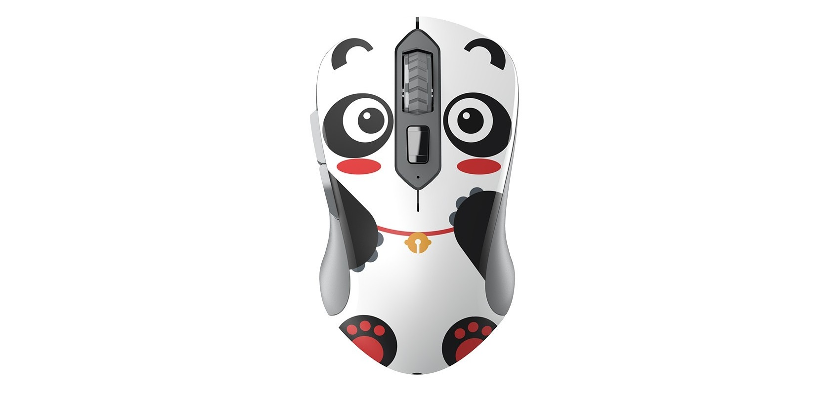 Thiết kế của Mouse Dareu LM115G Multi Color Wireless Black Panda