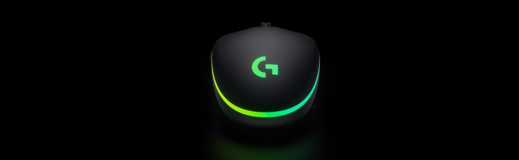 Mouse Logitech G102 Lightsync RGB Black  bổ sung hiệu ứng Wave cho dải led