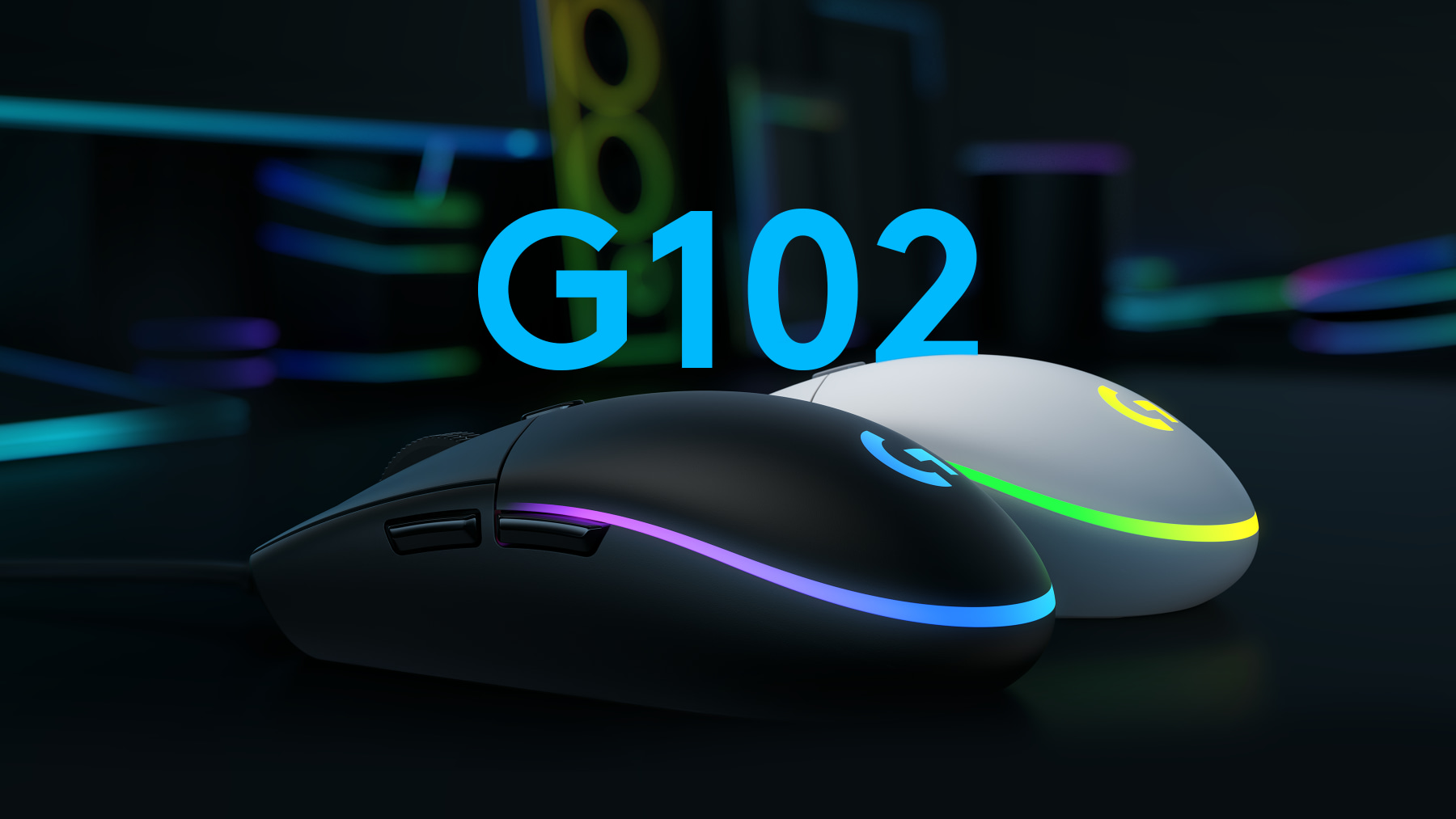 Mouse Logitech G102 Lightsync RGB Black Gaming Chất