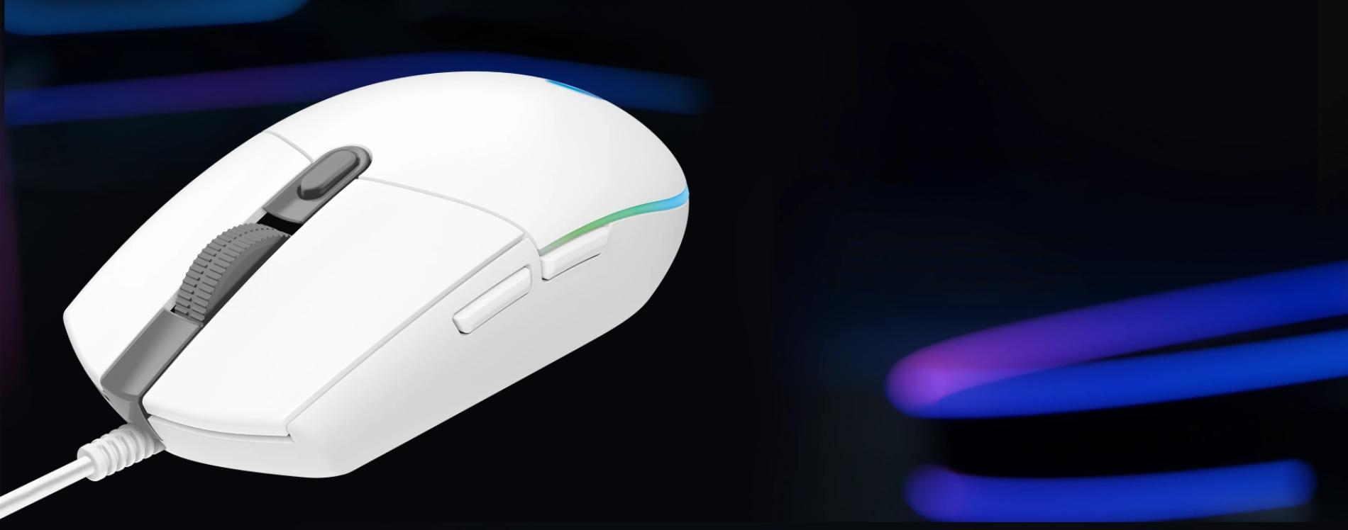Mouse Logitech G102 Lightsync RGB Black  trang bị switch Omron cho độ bền cao