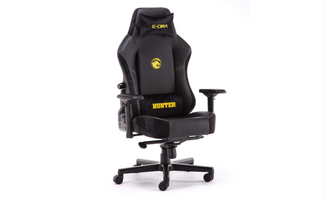 Ghế chơi game E-Dra Hunter Gaming Chair - EGC 206 sử dụng da PU cao cấp