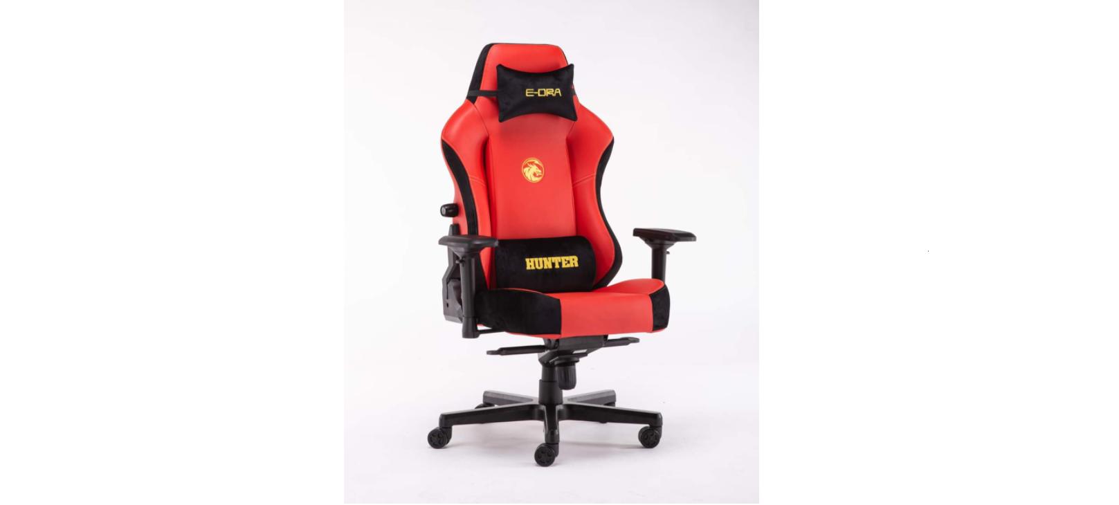 Ghế game E-Dra Hunter Gaming Chair - EGC 206 Red  sử dụng da PU cao cấp