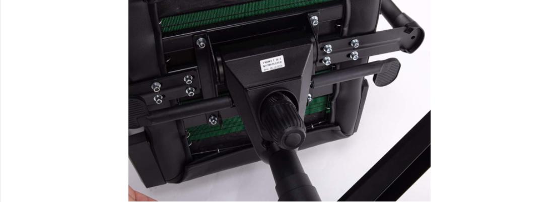 Ghế game E-Dra Hunter Gaming Chair - EGC 206 Red  có thiết kế khung kim loại chắc chắn